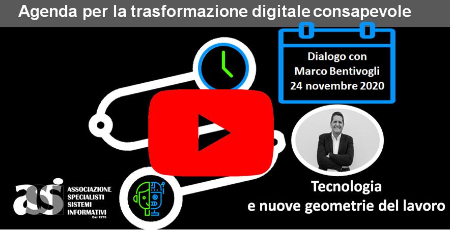 Dialogo con Marco Bentivogli 24 novembre 2020 – Webinar