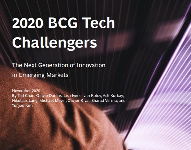 I 100 potenziali colossi digitali di domani secondo BCG