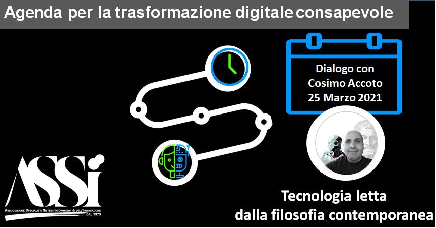 Dialogo Con Cosimo Accoto 25 Marzo 2021