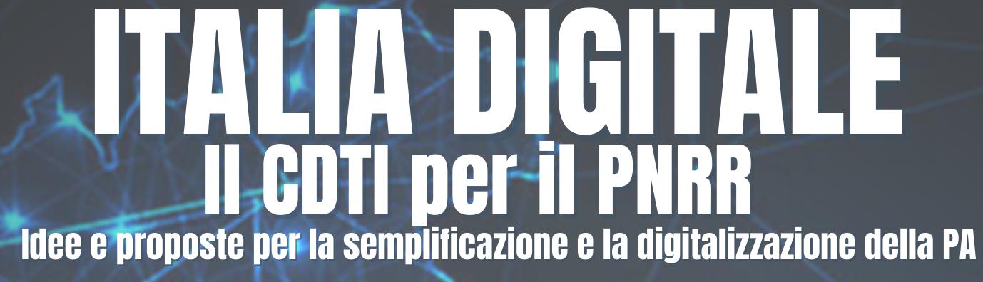 CDTI: Italia Digitale – 17.6.2021 ore 16