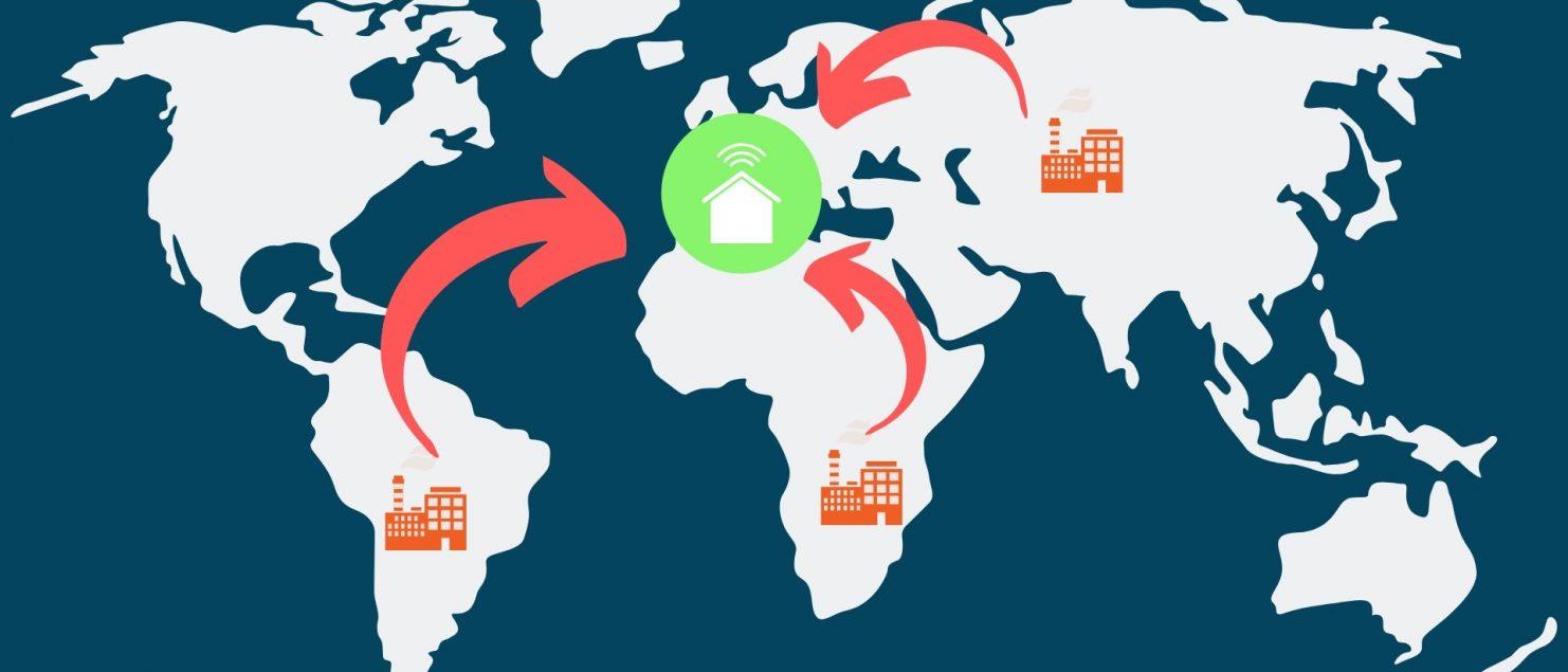 Produttività, mutamenti nelle catene globali del valore, reshoring
